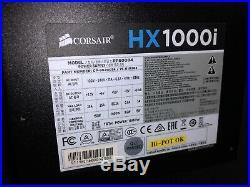 Corsair HX1000i, 1000 Watt, 80+ Platinum, Full Modular, Digital Power Supply