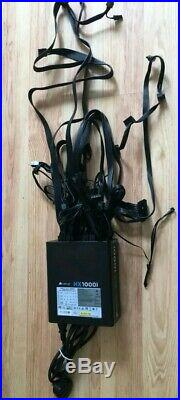 Corsair HX1000i (1000 Watt) 80 Plus Platinum Atx High Performance Series ref29