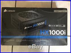 Corsair HX1000i 1000W 80 Plus Platinum ATX Power Supply, brand new still in seal