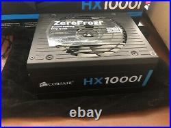 Corsair HX1000i 1000W PSU Platinium Power Supply Unit Fully Modular