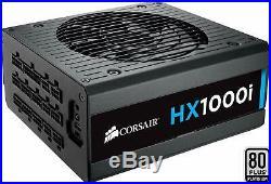 Corsair HX1000i PC-Netzteil (Voll-Modulares Kabelmanagement)