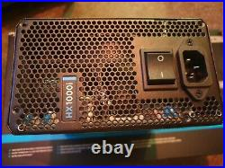 Corsair HX1000i Power Supply 1000W 80 Plus Platinum with custom cablemod cable