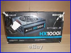 Corsair HX1000i Pro Series Power Supply 1000W ATX Modular 80+ PLATINUM PSU (NEW)