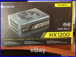 Corsair HX1200 1200W Power Supply Brand New
