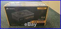 Corsair HX1200 80+ PLATINUM 1200W Power Supply Brand New