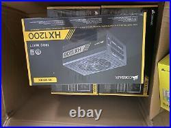 Corsair HX1200 80+ PLATINUM Certified 1200W Fully Modular Power Supply Unit