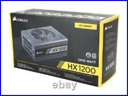 Corsair HX1200 80+ PLATINUM Certified 1200W PSU IN HAND