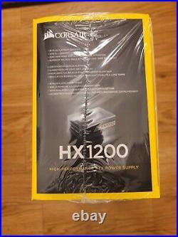 Corsair HX1200 80+ PLATINUM Certified 1200W PSU new IN HAND