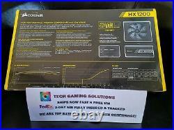 Corsair HX1200 80 PLUS PLATINUM 1200W Fully Modular Power Supply FREE FEDEX 2DAY