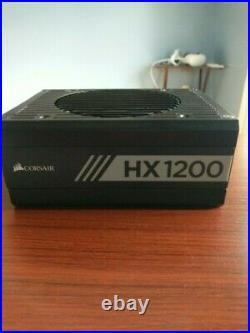Corsair HX1200 80 PLUS PLATINUM Certified 1200W Fully Modular Power Supply Unit