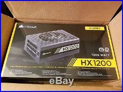 Corsair HX1200 PSU Brand New 80 Plus Platinum Cert Free Shipping