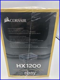 Corsair HX1200 Watt 80 Plus Platinum Factory Sealed Fully Modular Power Supply