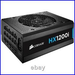 Corsair HX1200i 1200 Watt, 80 PLUS Platinum Power Supply PSU Brand New, Unused