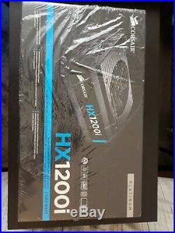 Corsair HX1200i, 1200 Watt 80 Plus Platinum Power Supply