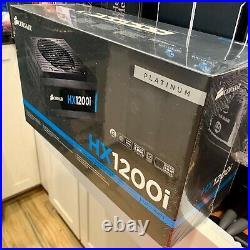 Corsair HX1200i 1200W Fully Modular Digital Power Supply Brand New