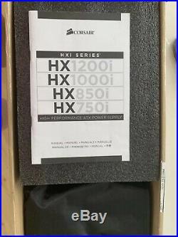 Corsair HX1200i 80+ Platinum 1200W Modulares Netzteil mit klein Defekt