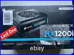 Corsair HX1200i ATX Fully Modular Power Supply 1200W 80 Plus Platinum (Sealed)