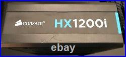 Corsair HX1200i HXi Series Platinum 1200W Modular ATX Power Supply PSU + Cables