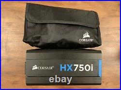 Corsair HX750i HXi Fully Modular 80+ Plus Platinum 750 Watt ATX PSU/Power Supply