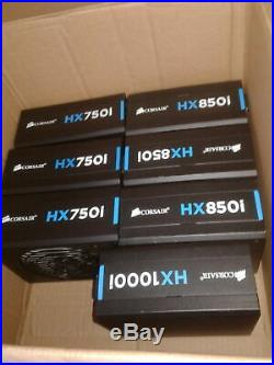 Corsair HX750i High-Performance 750W 80 Plus Platinum modular PSU