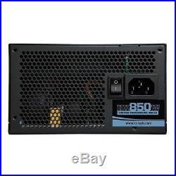 Corsair HX850 850W PSU ATX Fully Modular Power Supply SLI & Crossfire Ready