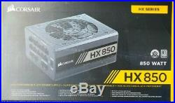 Corsair HX850 HX Series 850 Watt 80 PLUS Platinum Fully Modular PSU
