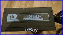 Corsair HX850 semi Modular PSU with cable etc FREE P&P