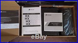 Corsair HX850i 850 Watt PSU Platinum c/w Box, Warranty Booklet & All Cables