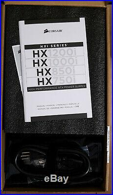 Corsair HX850i ATX Fully Modular High-Performance 80+ PLATINUM PSU iCue/Link