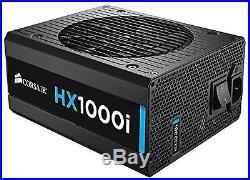 Corsair HXi Series HX1000i 1000 Watt (1000W) Fully Modular Power Supply 80+ P
