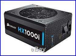 Corsair HXi Series HX1000i 1000 Watt 1000W Fully Modular Power Supply 80+ P