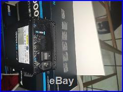 Corsair HXi Series, HX1000i, 1000W, Fully Modular Power Supply, 80+ Refurbished