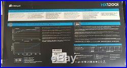 Corsair HXi Series, HX1200i, 1200 Watt (1200W), Fully Modular Power Supply