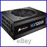 Corsair HXi Series, HX1200i, 1200 Watt (1200W), Fully Modular Power Supply, 8