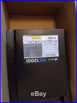 Corsair HXi Series, HX1200i, 1200 Watt (1200W), Fully Modular Power Supply, 80+