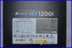 Corsair HXi Series HX1200i 1200W 80 Plus Platinum Certified PSU ATX Power Supply