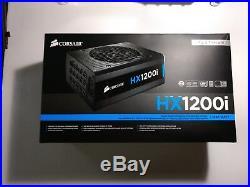 Corsair HXi Series HX1200i 1200W Platinum Fully Modular Power Supply 80+ USED VG