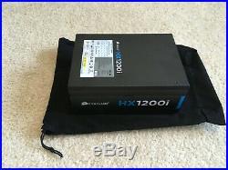 Corsair HXi Series HX1200i ATX Power Supply 1200 Watt 80 Plus Platinum PSU