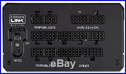 Corsair HXi Series, HX850i, 850 Watt 850W, Fully Modular Power Supply, 80