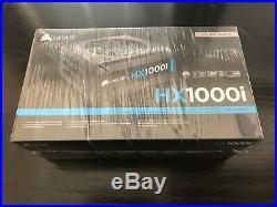Corsair HXi Series Hx1000i 1000 Watt Fully Modular Power Supply NEW Sealed Box