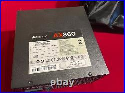 Corsair High End AX860i Power Supply PSU for GAMING or MINING AX860 860W