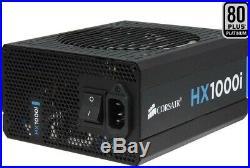 Corsair Hx1000i 1000 Watt Fully Modular Power Supply (Slightly Used)