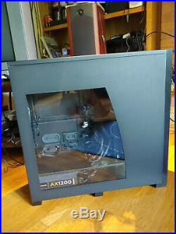 Corsair Obsidian 800D full tower with Corsiar 1200w gold certified power supply