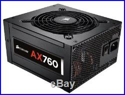 Corsair Professional 760 Watt ATX/EPS Modular 80Plus Platinum Power Supply AX760