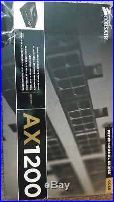 Corsair Professional Series AX1200 80 PLUS Gold Certified Fully-Modular Power