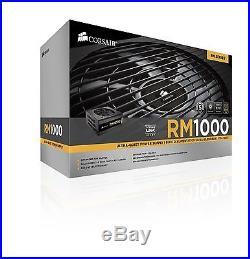 Corsair RM Series RM1000 1000 Watt (1000W) Fully Modular Power Supply 80+ Gol