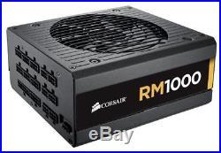 Corsair RM Series RM1000 1000 Watt (1000W) Fully Modular Power Supply 80+ Gold