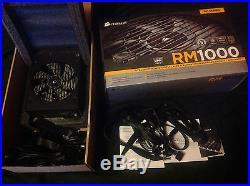Corsair RM Series RM1000 1000 Watt 80 PLUS Gold Certified Fully Modular PSU