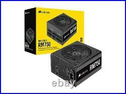 Corsair RM Series RM750 750 Watt 80+ Gold Certified Fully Modular Power Supply