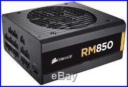 Corsair RM Series, RM850, 850 Watt (850W), Fully Modular Power Supply, 80+ Gold